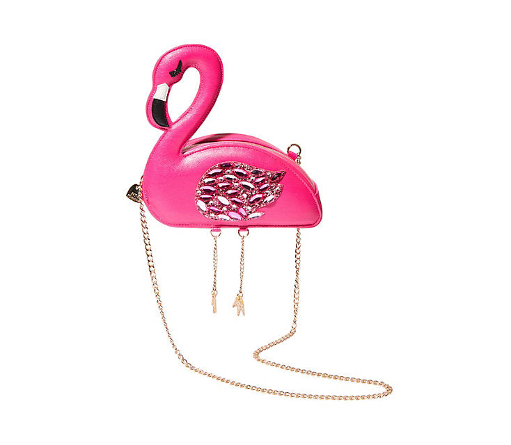 Kitsch Flamingoals Betsey Johnson Crossbody