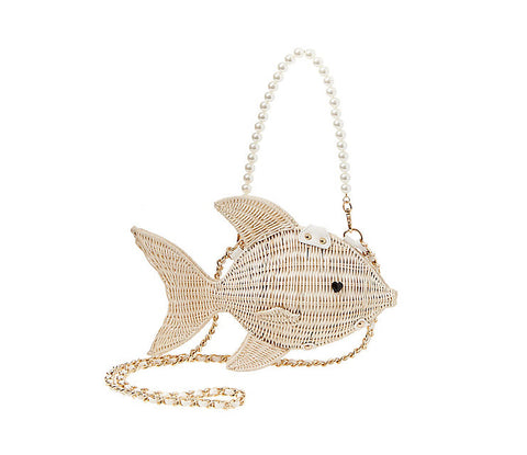 Kitsch Gone Fishin Crossbody by Betsey Johnson