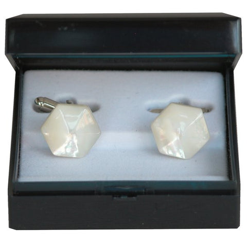 Mother of Pearl Cufflinks by Antartide