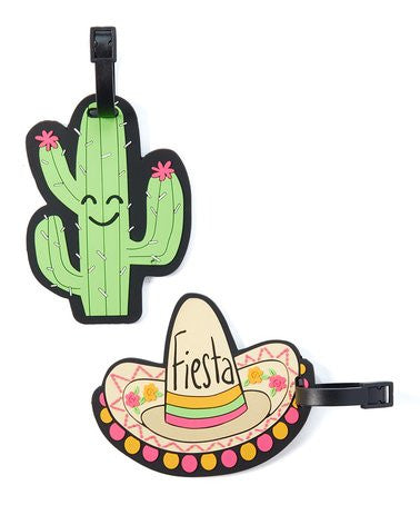 Fiesta Luggage Tags by Betsey Johnson