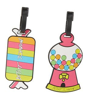Candy Luggage Tags by Betsey Johnson