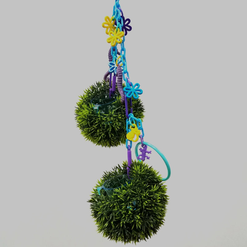 Green Grass Foraging Toy