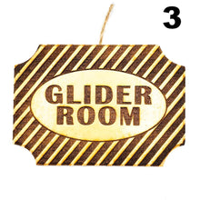 Glider Room Plaque