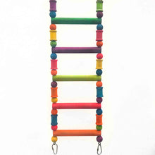 Wood Blocks Bird Ladder Toy