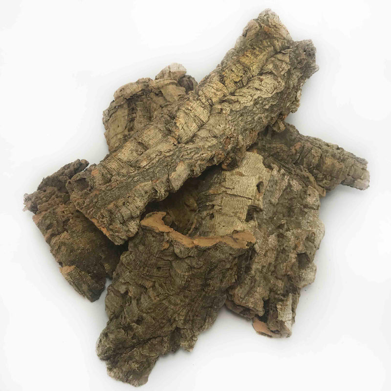 Bulk box of cork bark