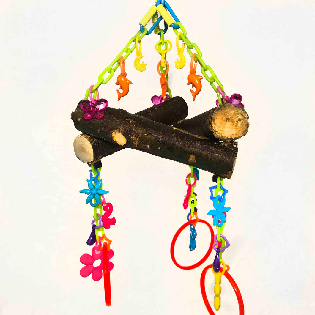 Summer Fun Eucalyptus Triangle Toy