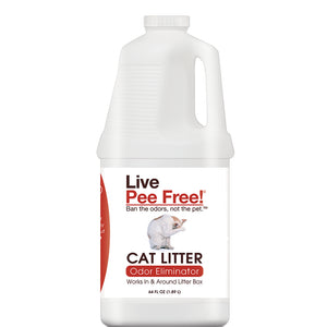 Live Pee Free!® Cat Litter Odor Eliminator - 64 oz. Photo