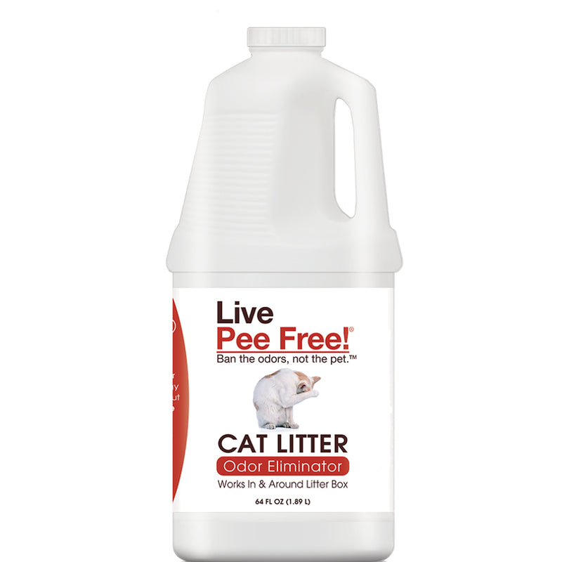 Live Pee Free!® Cat Litter Odor Eliminator - 64 oz.