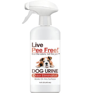 Live Pee Free!® Dog Urine Odor Eliminator - 16 oz. Photo
