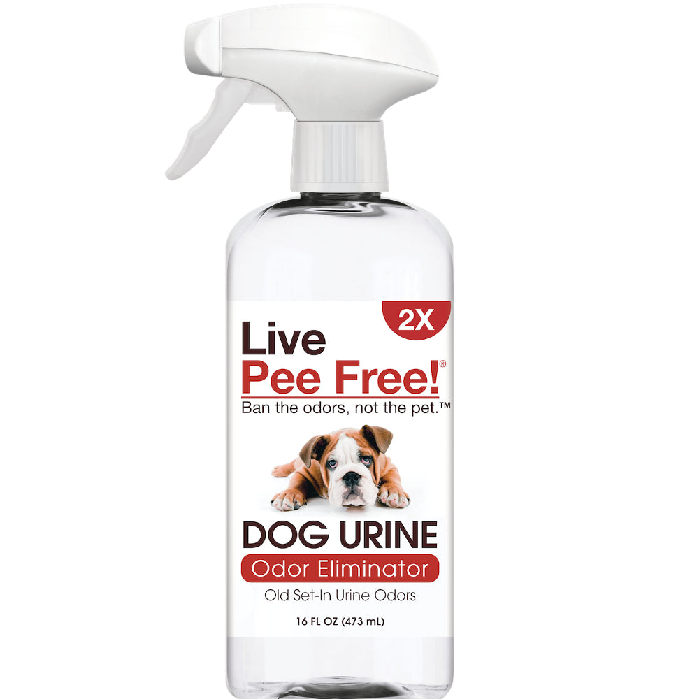 Live Pee Free!® Dog Urine Odor Eliminator 2X - 16 oz.