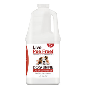 Live Pee Free!® Dog Urine Odor Eliminator 2X - 64 oz. Photo