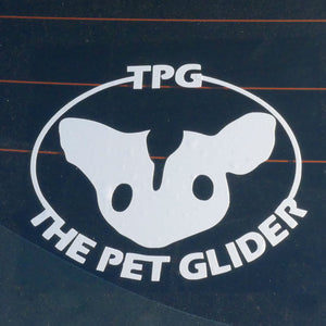 TPG Vinyl Sticker Decal Photo
