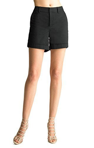 FOCUS 2000 Women's Modern color Stretch Shorts.
