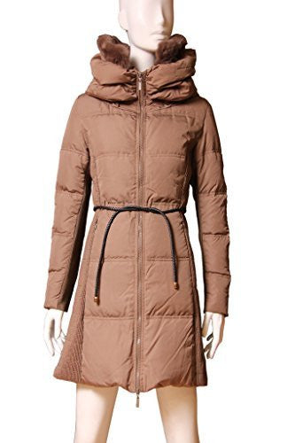 Searle Women Polyester Coat (Brown)