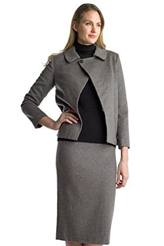 Searle Women Cashmere Blazer (Coffee)