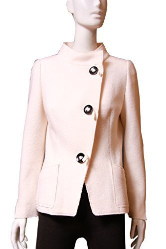 Searle Women Stylish Wool Coat (Winter White)