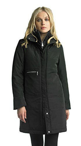 Searle Postcard Collection Water Repellent City Coat Filled With Ultra Warm Primaloft