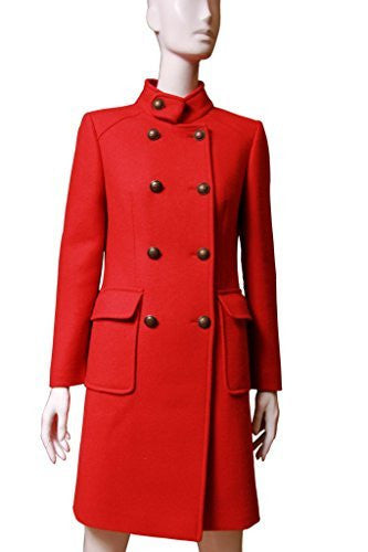 Searle Women Stylish Coat (Red)