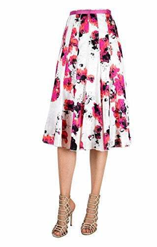 FOCUS 2000 Women's Floral Printed Skirts
