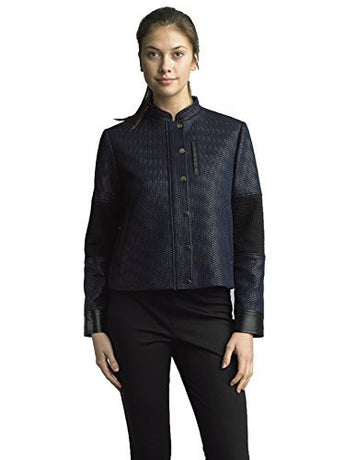 FOCUS 2000 Ladies Haringbone Twill Textured Jacket
