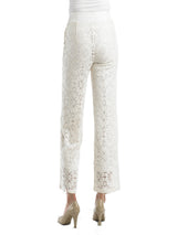 Ally NYC Women's Lace Easy To Wear Pull On Pants