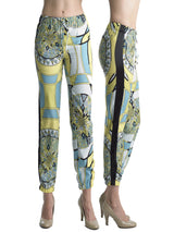Ally NYC Women's Mossaic Print Jogger pants
