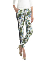 Ally NYC Women's Tropical Print Jogger Pants