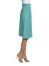 Ally NYC Women's Jet Set Rayon Midi Skirt