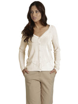 Ally NYC Women's Pointelle Sweater Cardigan