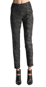 FOCUS 2000 Ladies Techno Thin Novelty Pull On Pant