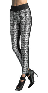 FOCUS 2000 Ladies Techno Thin Print Pull On Pant