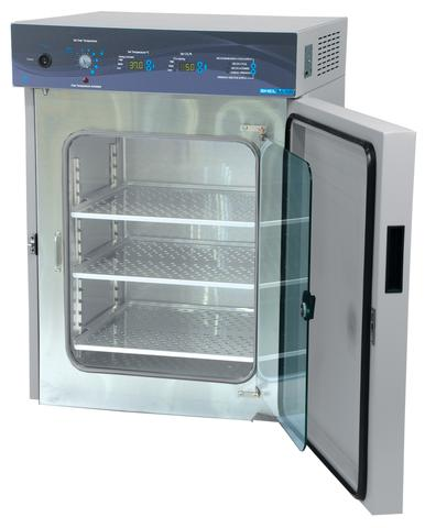 A SHEL LAB SCO6AD Decontamination CO2 Incubator.