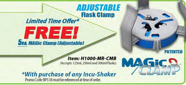 Free MAGic Clamp promotion.
