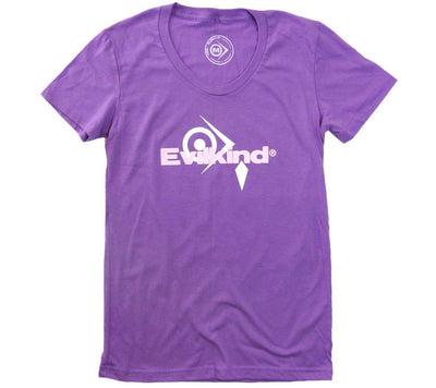 Evilkind Women's Short Sleeve Crew Neck T-Shirt Orchid - Evilkind