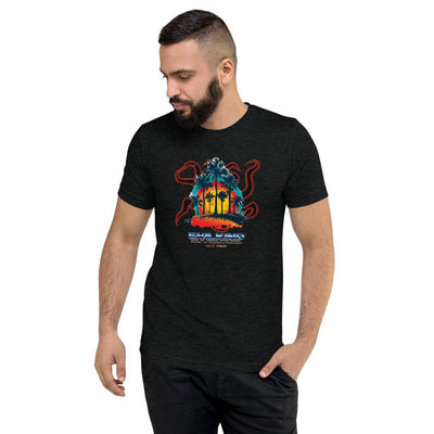 Evilkind® Malibu Hydra Made in Mystery Babylon Tri-Blend Short Sleeve Unisex T-shirt - Evilkind