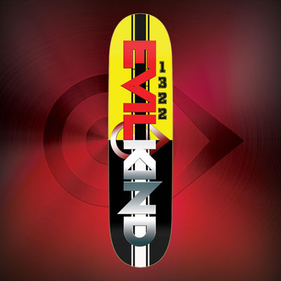 Racing Stripes - Evilkind® Skate Deck - Evilkind