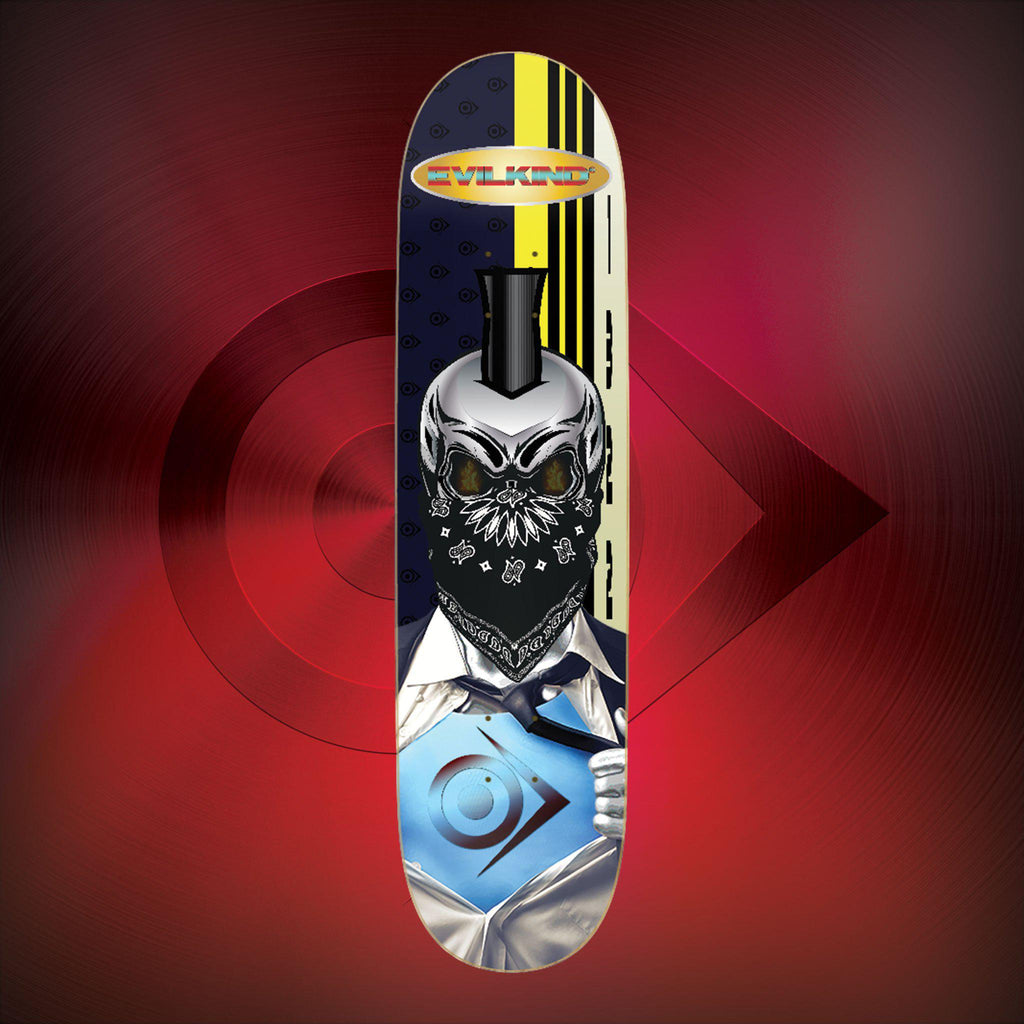 Skull Hero - Evilkind® Skate Deck