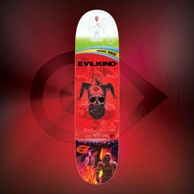Welcome to Earth - Evilkind® Skate Deck - Evilkind