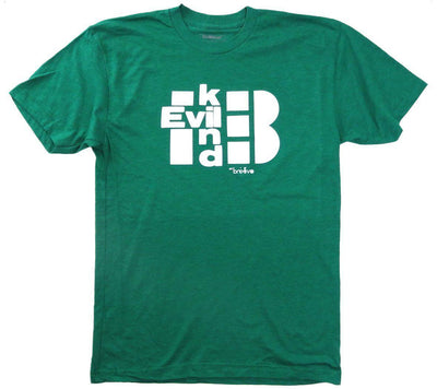 Evilkind Men's Short Sleeve Crew Neck T-Shirt Kelly Green - Evilkind
