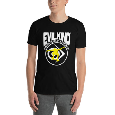 Evilkind® Skateboarding - Designed to Make a Statement - Short-Sleeve Unisex T-Shirt