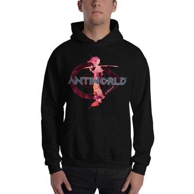 Evilkind® Antiworld™ He Came with a Sword Unisex Hoodie - Evilkind