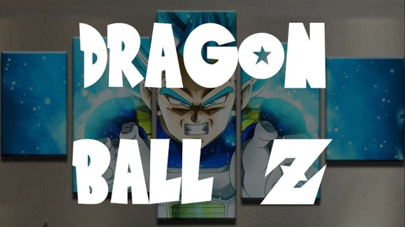 Dragon Ball Z Canvas Wall Art [Free Shipping] + (60% OFF)