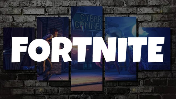 Fortnite Canvas Wall Art [Free Shipping] + (60% OFF)