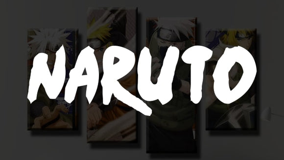 Naruto Canvas Wall Art [Free Shipping] + (60% OFF)