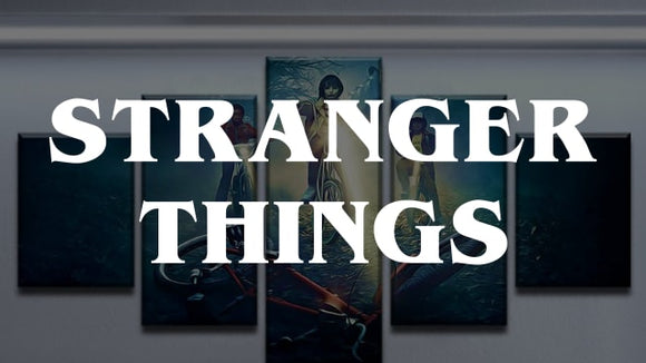 {2018} Stranger Things Canvas Wall Art [Free Shipping] + (60% OFF)