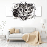 Eternal Love 5 Piece Canvas Wall Art