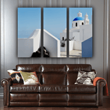 Modern Greece 3 Piece Canvas Wall Art
