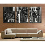 Barber Shop 3 Piece Canvas