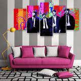 "The Beatles ""Fab Four"" 5 Piece Canvas"