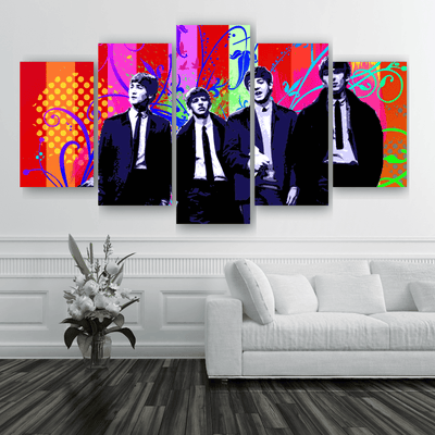 "Beatles ""Fab Four"" Art"